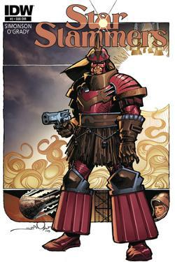 Star Slammers Issue No. 2 - Subscription Cover by Walter Simonson