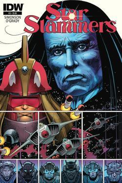 Star Slammers Issue No. 3 - Standard Cover by Walter Simonson