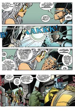 Star Slammers Issue No. 4: The Minoan Agendas, Chapter 1: The Prisoner - Page 16 by Walter Simonson