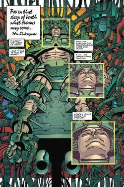 Star Slammers Issue No. 4: The Minoan Agendas, Chapter 1: The Prisoner - Page 1 by Walter Simonson