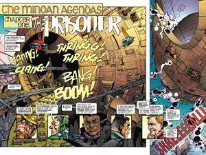 Star Slammers Issue No. 4: The Minoan Agendas, Chapter 1: The Prisoner - Page 2 by Walter Simonson
