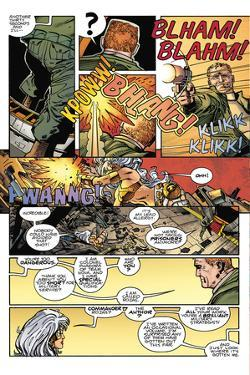 Star Slammers Issue No. 5: The Minoan Agendas, Chapter 2: The Empire - Page 22 by Walter Simonson