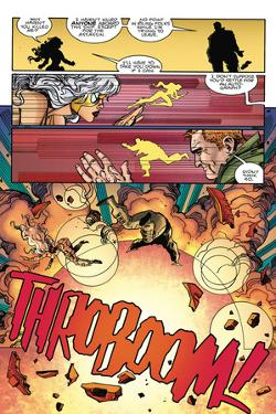 Star Slammers Issue No. 5: The Minoan Agendas, Chapter 2: The Empire - Page 23 by Walter Simonson
