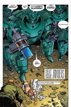 Star Slammers Issue No. 5: The Minoan Agendas, Chapter 2: The Empire - Page 24 by Walter Simonson