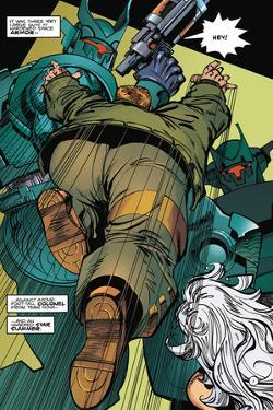 Star Slammers Issue No. 6 - Page 1 by Walter Simonson