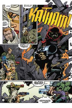 Star Slammers Issue No. 6: The Minoan Agendas, Chapter 3: The Invaders - Page 10 by Walter Simonson