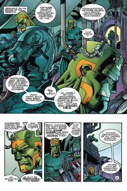 Star Slammers Issue No. 6: The Minoan Agendas, Chapter 3: The Invaders - Page 15 by Walter Simonson