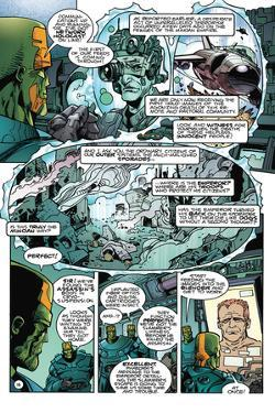 Star Slammers Issue No. 6: The Minoan Agendas, Chapter 3: The Invaders - Page 16 by Walter Simonson