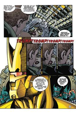 Star Slammers Issue No. 7: The Minoan Agendas, Chapter 4: The Ship - Page 10 by Walter Simonson