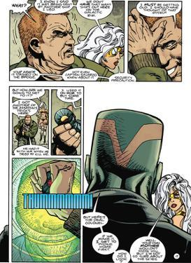 Star Slammers Issue No. 7: The Minoan Agendas, Chapter 4: The Ship - Page 17 by Walter Simonson