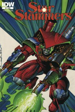 Star Slammers Issue No. 8 - Standard Cover by Walter Simonson