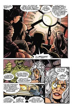 Star Slammers Issue No. 8: The Minoan Agendas, Chapter 5: The Contract - Page 25 by Walter Simonson
