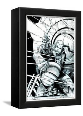 Star Slammers No. 5 Cover - Inks by Walter Simonson