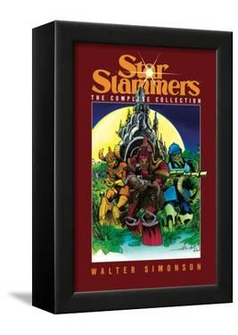 Star Slammers: The Complete Collection - Collected Edition Cover by Walter Simonson