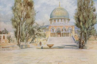Dome of the Rock from the Mosque of El Aksa, Jerusalem