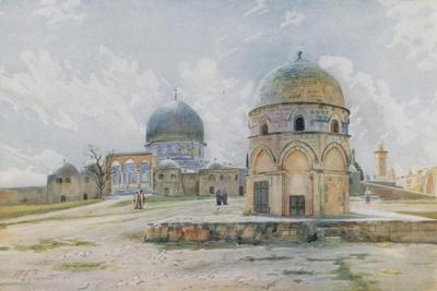 Morning in Jerusalem: the Mosque of Omar on the Shaded Side