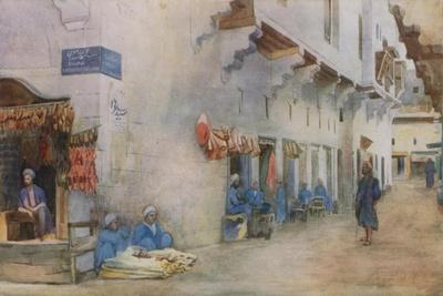 Sharia-El-Kerabiyeh, or Street of the Water Carriers, Cairo