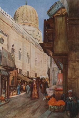 The Dome of El Moaiyad from Bab Zuweyleh, Damascus