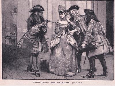Making Friends with Mrs Marsham Ad 1710
