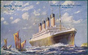 Liner of the White Star Line by Walter Thomas