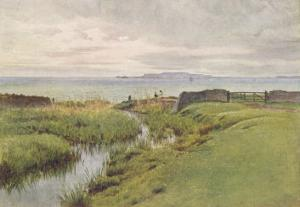 Dorset Scenery: Portland Bill from Weymouth Bay by Walter Tyndale