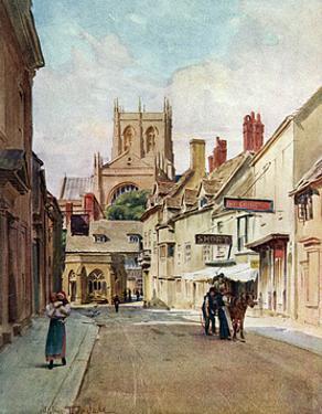 Sherborne, Dorset 1906 by Walter Tyndale