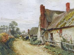 Wessex, Tincleton Cottage by Walter Tyndale