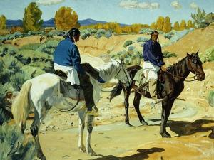 Companions by Walter Ufer