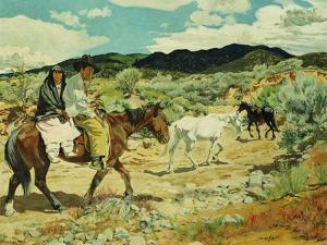 His Wealth by Walter Ufer