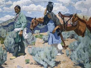 Midday by Walter Ufer