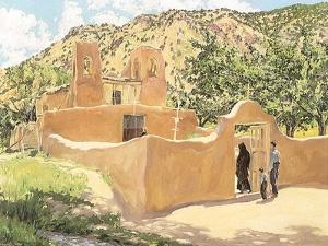 Oferta Para San Esquipula, 1918 by Walter Ufer