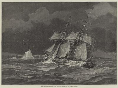 The Arctic Expeditions, the Pandora Beating Up for Carey Islands