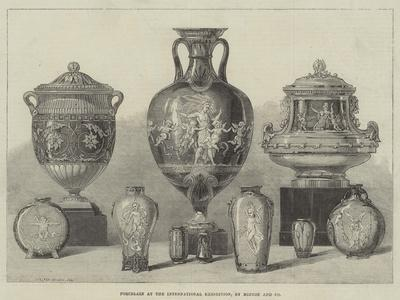 Porcelain at the International Exhibition, by Minton and Company