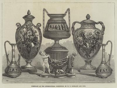 Porcelain at the International Exhibition