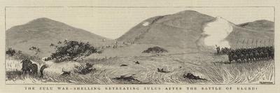 The Zulu War, Shelling Retreating Zulus after the Battle of Ulundi