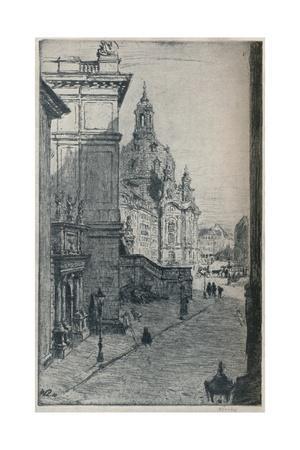 'Judenhof, Dresden', c1913
