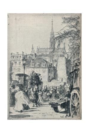 'Place St. Michel, Paris', c1913