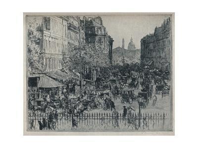 'Rue Royale, Paris', c1913