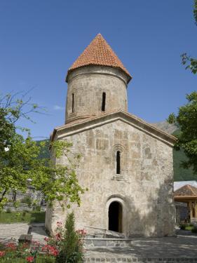 Albanian Church, Dating from the 12th Century, Kish, Near Shaki, Azerbaijan by Waltham Tony