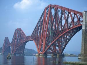 Forth Railway Bridge, Built in 1890, Firth of Forth, Scotland, United Kingdom, Europe by Waltham Tony