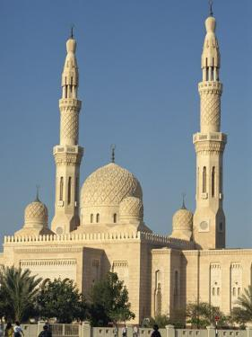 Jumeirah Mosque, Dubai, United Arab Emirates, Middle East by Waltham Tony
