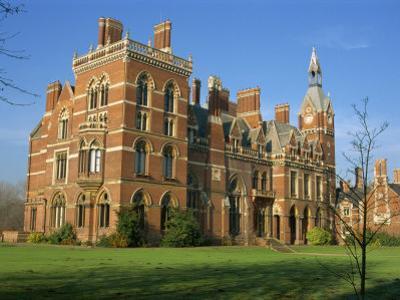 Kelham Hall, Built 1676, Rebuilt after Fire in 1857, Newark, Nottinghamshire, United Kingdom