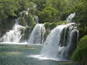 Krka Tufa Falls, Sibenik, Croatia, Europe by Waltham Tony