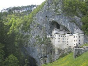 Predjama Castle, Built in Mouth of Cave, Near Postojna, Slovenia, Europe by Waltham Tony