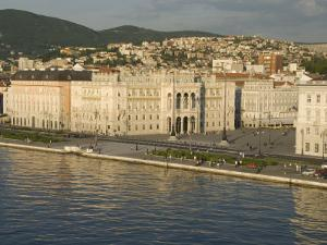Town Hall Fronting on Piazza Unita D'Italia, Trieste, Friuli-Venezia Giulia, Italy by Waltham Tony