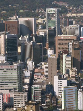 Ulchiro Central Business District, Seoul, South Korea