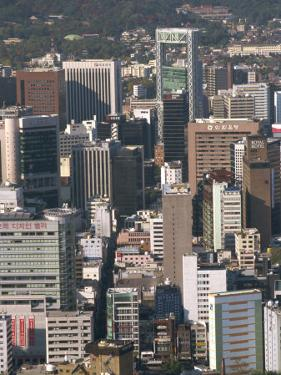 Ulchiro Central Business District, Seoul, South Korea by Waltham Tony