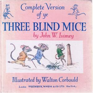 Front Cover the Three Blind Mice by Walton Corbould