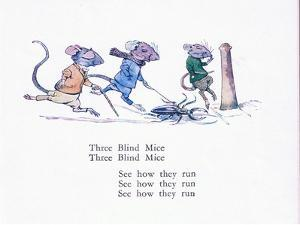 Three Blind Mice, Three Blind Mice, See How They Run by Walton Corbould