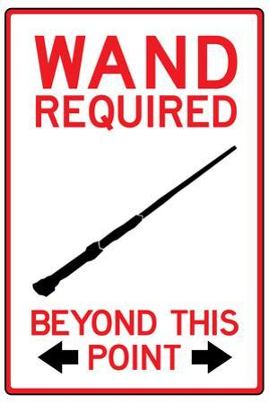 Wand Required Past This Point